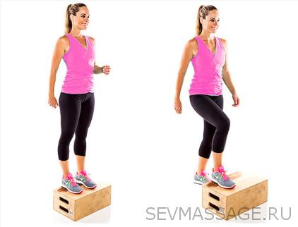Тренировки при больных коленях