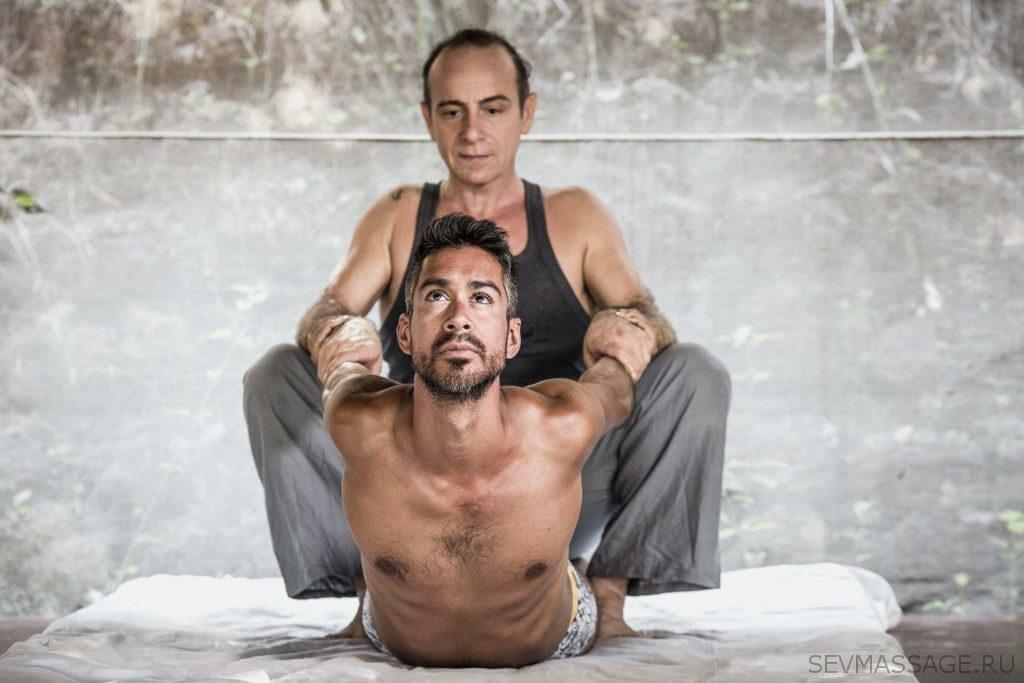 Тайский массаж на мате