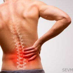 Стабилизация межпозвоночного диска:включение спящих мышц массажем